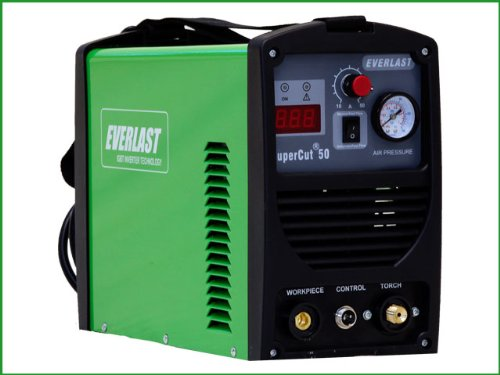 41160MnR2sL Everlast SuperCut50 110v/220v Inverter plasma cutter 50AMP