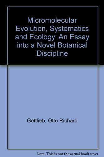 micromolecular-evolution-systematics-and-ecology-an-essay-into-a-novel-botanical-discipline