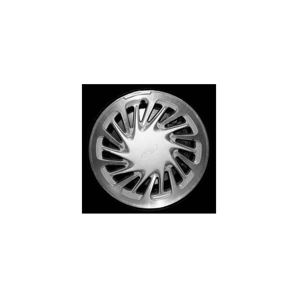98 99 FORD WINDSTAR ALLOY WHEEL RIM 15 INCH VAN, Diameter 15, Width 6, Lug 5 (10 SPOKE), MACHINED FACE WITH SILVER VENTS, 1 Piece Only, Remanufactured , (center cap not included) (1998 98 1999 99) ALY