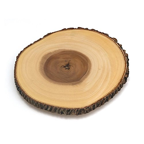 Tree Bark Footed Server