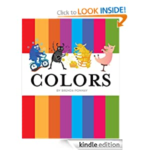 Colors: An illustrated animal picture book for children