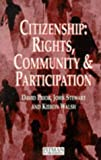Citizenship: Rights, Community, and Participation (0273616765) by Stewart, John