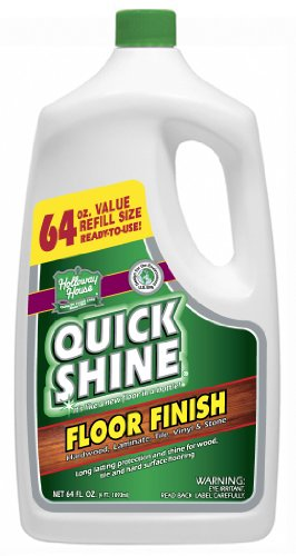 Learn More About Quick Shine Floor Finish, 64-Ounce