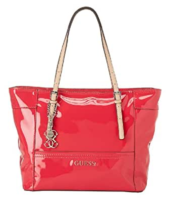 GUESS Delaney Tote Bag, Watermelon Red