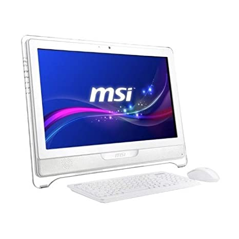 """MSI AE222-220XEU Unité centrale 21,5"""" (53,34 cm) Ecran Tactile Blanc (Intel Core i3, 4 Go de RAM, 1 To, Intel HD Graphics 4400)"""