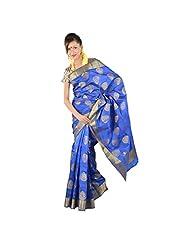 Kashish Royal Blue Silk Saree For Women