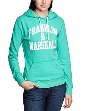 Franklin & Marshall FLWC526S13 Women's Sweatshirt Electric Green X-Small
