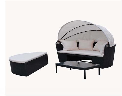Poly-Rattan Liege Sonnenliege Strandkorb Bett Gartenmöbel Garten Möbel Sessel Stuhl – XXXL kaufen