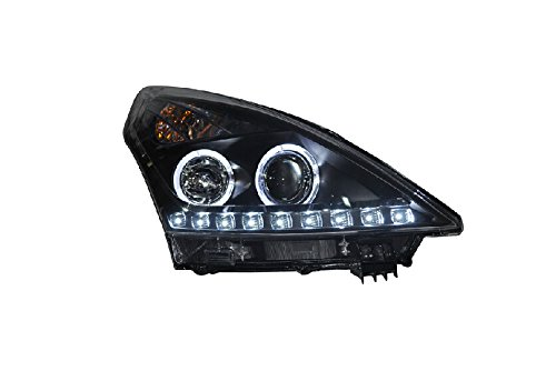 Auptech Nissan Teana 2009-2011 Headlight Assembly Angel Eyes Halogen Hid Led Projector Headlight Lamp