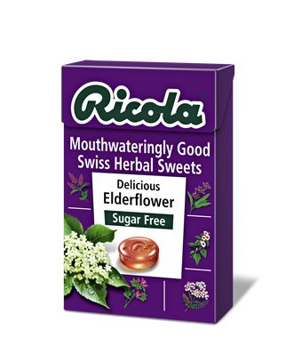 ricola-elderflower-45g-case-of-20