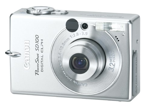 Canon PowerShot SD100 3.2MP Digital ELPH Camera w/ 2x Optical Zoom
