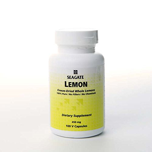 Whole Lemon Concentrate Supplements - (100 Caps)