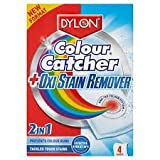 Dylon Colour Catcher + Oxi Stain Remover 2 in 1 - 4 Satchets