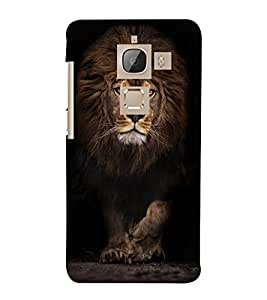 LION A POWERFULL CREATION OF NATURE 3D Hard Polycarbonate Designer Back Case Cover for LeEco Le Max 2::Le TV Max 2