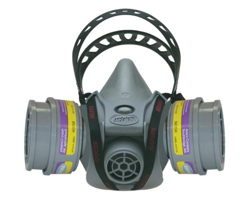 AO Safety 95090 Quicklatch PRO Dual Cartridge Respirator - AO Safety - AO-95090 - ISBN:B0000DCBDQ