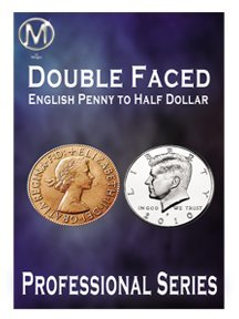 Double Faced Half Dollar English Penny