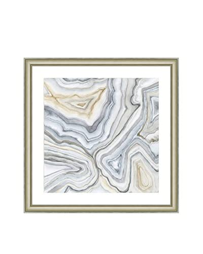 Art Source Neutral Agate Print II, Multi, 24 x 24