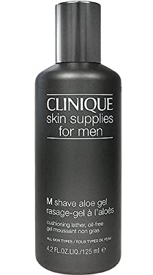 Best Cheap Deal for Clinique Skin Supplies for Men M Shave Aloe Gel 125ml/4.2oz - All Skin Types from Clinique - Free 2 Day Shipping Available