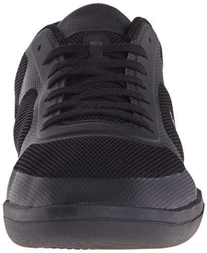 Lacoste Men's Court-Minimal Sport 316 1 Spm Fashion Sneaker, Black, 9 M US