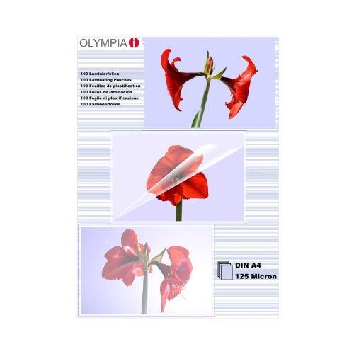 olympia-9176-fundas-para-plastificar-125-mic-din-a4-100-unidades