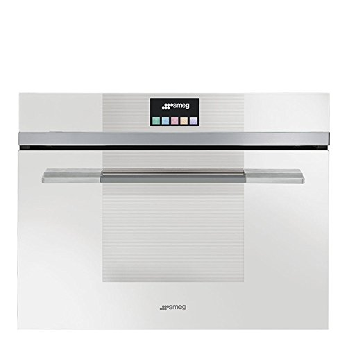 Smeg Linea SF4140VCB Built-in Steam Oven with Touch Controls White