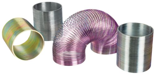 """Toysmith 00500 2"""" Metal Magic Spring Assorted Colors"""
