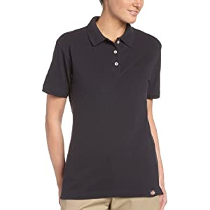 Dickies Women's Short Sleeve Pique Polo