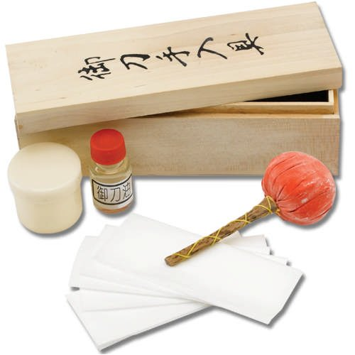 Ace Martial Arts Supply Japanese Samurai Katana Sword Maintenance Cleaning Kit 2