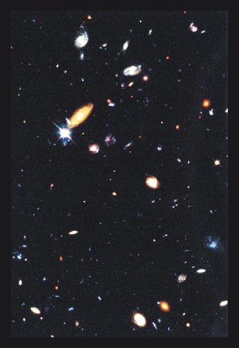 Hubble Deep Field, By Nasa, 32X48 Canvas Giclée, Gallery Wrap, Office Size