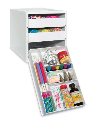 YouCopia BakeStack Organizer - Baking Tools and