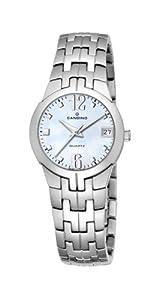 Candino - Blue Sea C2088-C - Montre Femme - Quartz - Analogique - Bracelet Acier Inoxydable Argent