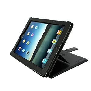 rooCASE Convertible for iPad 2 - Black
