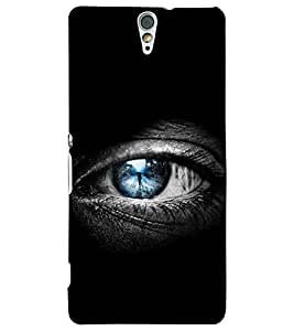 PRINTSWAG EYE Designer Back Cover Case for SONY XPERIA C5 DUAL