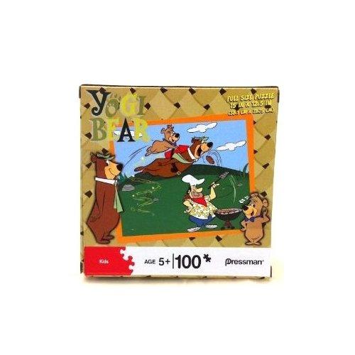 Pressman Kids Yogi Bear 100 piece Puzzle