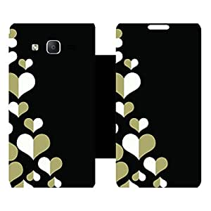 Phone Candy Designer Flip Cover with hi-res printed Vinyl sticker wrap-around for Samsung Galaxy On5