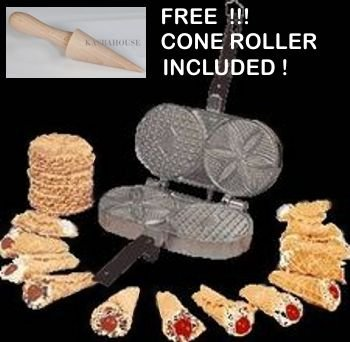 New Palmer Pizzelle Maker - Made in USA