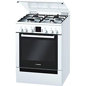 Bosch HGV745220F Four 67 L Convection, Conventional, Defrost, Rotisserie Blanc