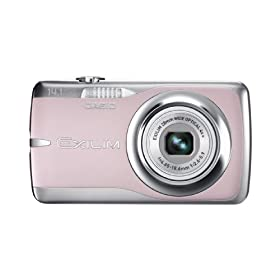 Casio EX-Z550 14.1MP Digital Camera with 4x Wide Angle Zoom with CCD Shift Image Stabilization and 2.7 inch LCD (Pink)