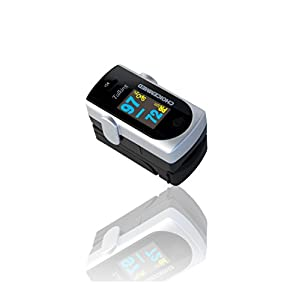 ChoiceMMed Fingertip Pulse Oximeter with Real Person Voice Reading Results