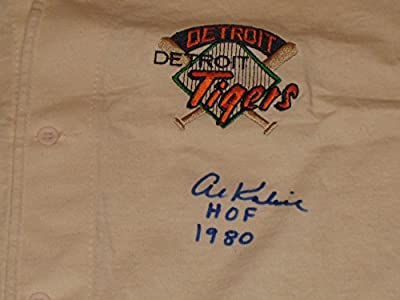 "Al Kaline Autographed Detroit Tigers ""The Game"" Baseball Jersey - COA"