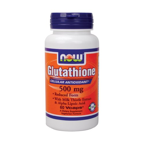 Now Foods Glutathione 500 Mg - 60 Vcaps ( Multi-Pack)