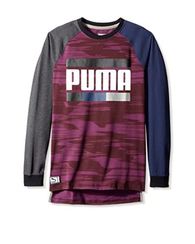 PUMA Men's Blocked Raglan