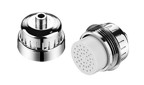 HotelSpa 1136 Replacement Shower Filter Cartridge for Universal Shower Filter Model #1126 and HotelSpa 1130 Ultra-Luxury 6-setting Rain Shower Head with Shower Filter System (Shower Head Filter System compare prices)