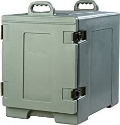 Carlisle PC300N59 Cateraide Insulated Front End Loading Food Pan Carrier, 5 Pan Capacity, Slate Blue
