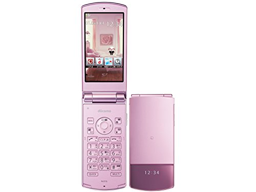docomo 2014年冬モデル 携帯電話 N-01G (ピンク) 白ロム