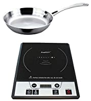 Power Induction Stove with Stainless Steel Fry Pan