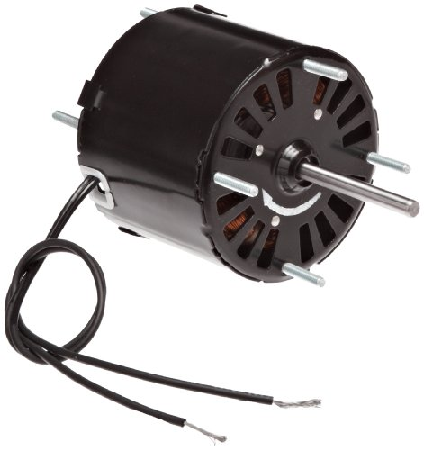"Fasco D206 3.3"" Frame Open Ventilated Shaded Pole General Purpose Motor With Sleeve Bearing, 1/30Hp, 3000Rpm, 115V, 60Hz, 1.2 Amps"