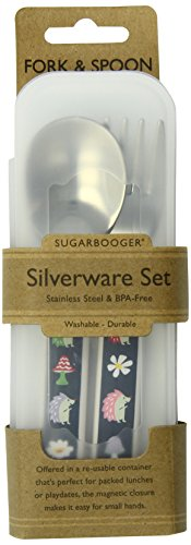 SugarBooger Silverware Set, Hedgehog