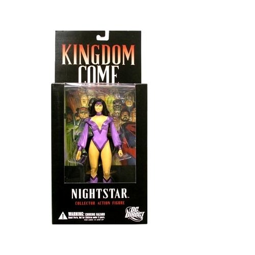 Kingdom Come: Nightstar Action Figure - 1
