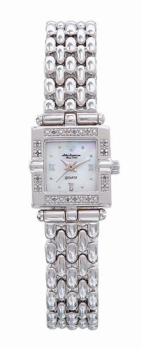 Jules Jurgensen Women's Square Diamond Dress Watch #7713W - Buy Jules Jurgensen Women's Square Diamond Dress Watch #7713W - Purchase Jules Jurgensen Women's Square Diamond Dress Watch #7713W (Jules Jurgensen, Jewelry, Categories, Watches, Women's Watches, Dress Watches, Metal Banded)